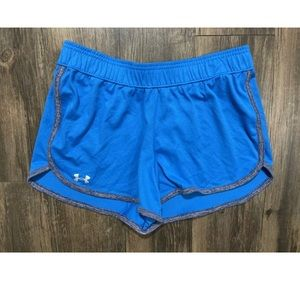 Under Armour Women's Shorts Size Medium Blue